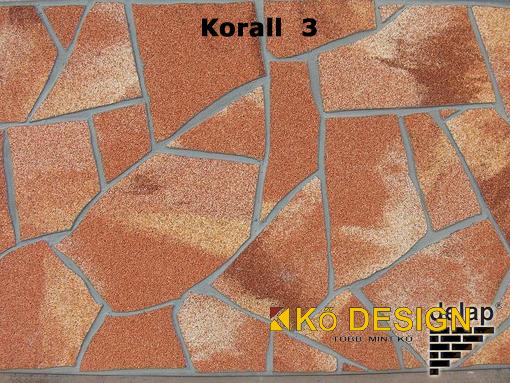 Delap terméskő Korall 3