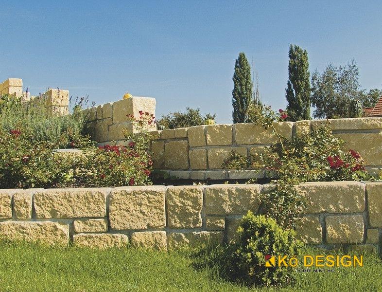 Friedl Gutshof falazókő koptatott